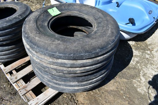 (2) Goodyear 11.00-16 Used Tires