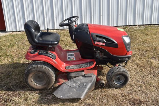 "Craftsman WT3000 Garden Tractor, 46"" Mower Deck, Hydro, 21HP Engine"