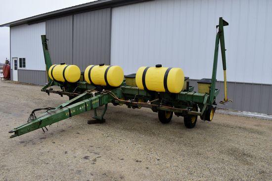 "John Deere 7000 Planter, 8Row 30"", Liquid Fertilizer, (3) 70 Gallon Fertilizer Tanks, 12 Volt Pump,"