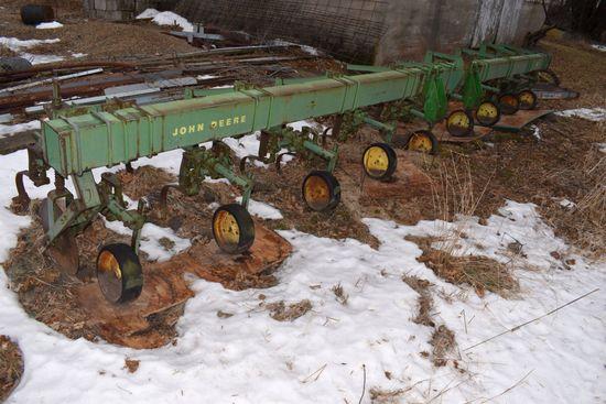 "John Deere RM, 3pt, Cultivator, 8Row 30"", Currently Frozen Down"