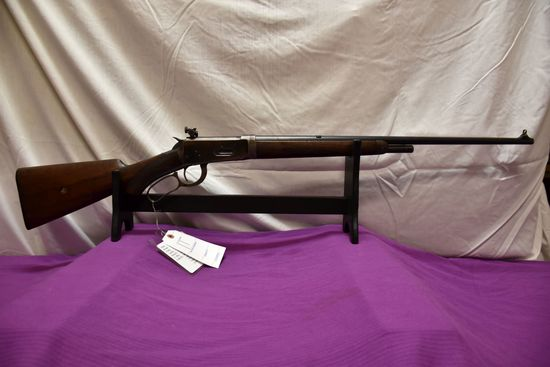Winchester 1894 30 WCF Cal., Deluxe Takedown Lightweight Barrel, Shotgun Butt, Globe Front Sight, Ly