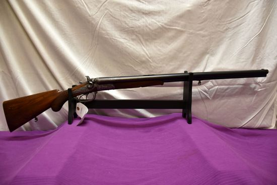 Wittener Excelsior Collath Triple Barrel Shotgun, 12 Gauge, Flip Up Butt Stock For Shell Storage, Fa