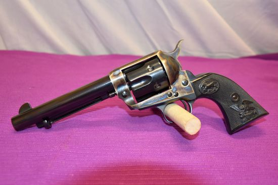 American Western Arms Peacemaker .45 Colt Revolver, Case Coloring, SN:P5872