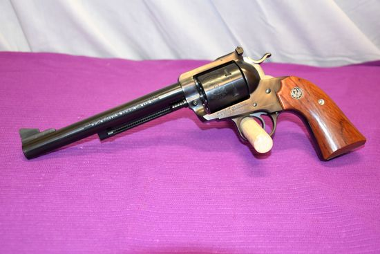 "Ruger .45 Cal, New Model Blackhawk, Revolver, ""Bisley Model"" SN:47-79882"