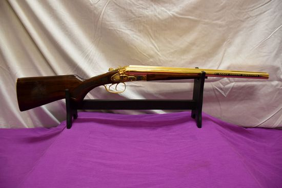 2006 Uberti 12 Gauge Dodge County Commemorative, With Micro Engraving On Stock And Forearm, Side By