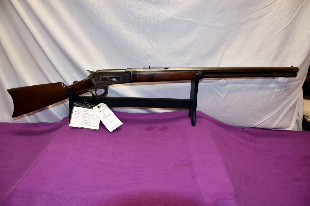 Winchester 1886 45-90 Cal., SN:60348, 26'' Octagon Barrel, Full Magazine, Year Manufactured 1891, Le