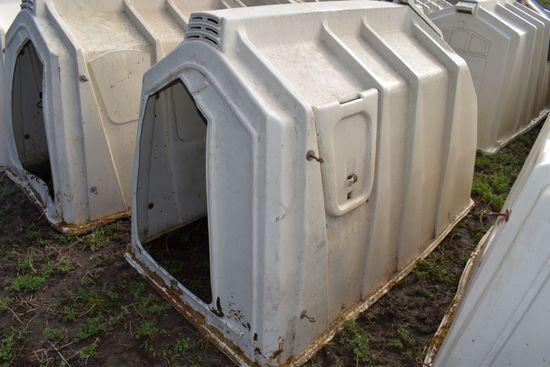 Calf-Tel Calf Hutch With Back Bedding Door