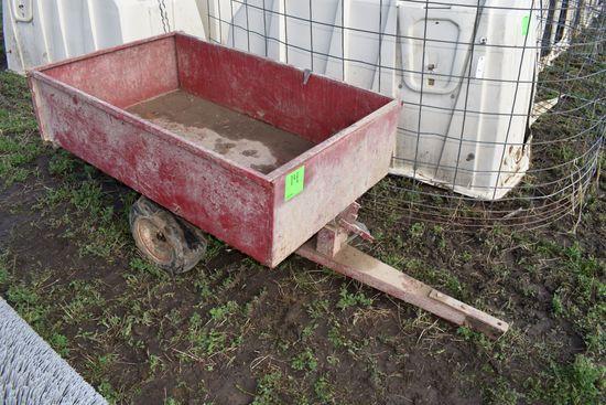 12 Cu. Ft. Metal Yard Cart