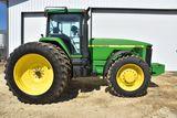 1997 John Deere 8300 MFWD Tractor, 6,542 Actual Hours, 18.4R46 Duals 85%, 16 Front Weights, 4hyd, 3p