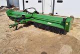 John Deere 115 Stalk Shredder, 15', 1000PTO, 4 Transport Wheels, Good Hood, SN:X002597
