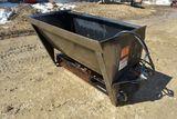 Berlon 5' Bedding Sand Shooter, Belt Drive, Universal Skid Loader Plate