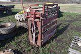 Calf Head Gate With Working Chute