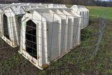Calf-Tel Calf Hutch, With Wire, Used