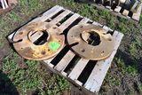 Pair Of John Deere Rear Wheel Weights, Selling As One Money