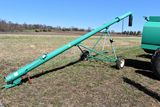 Houle 30' Manure Load Stand, Manual Lift, Very Good Condition