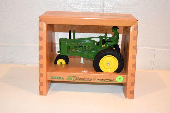 Ertl John Deere 40th Anniversary Commemerative, 1/16th Scale With Box