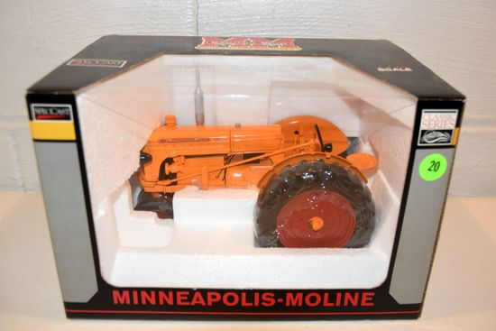 Spec Cast Minneapolis Moline U, 1/16th Scale With Box