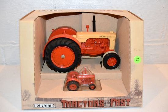 Ertl Tractors Of The Past Case 600, 1/16th Scale With Box