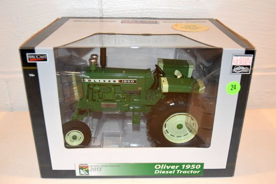 Spec Cast Oliver 1950, 2013 National Farm Toy Museum Number 28 IN Series, 1/16th Scale In Box