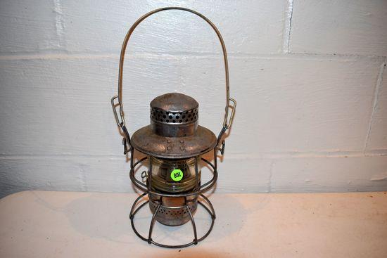 Adlake Clear Globed Kerosene Lantern