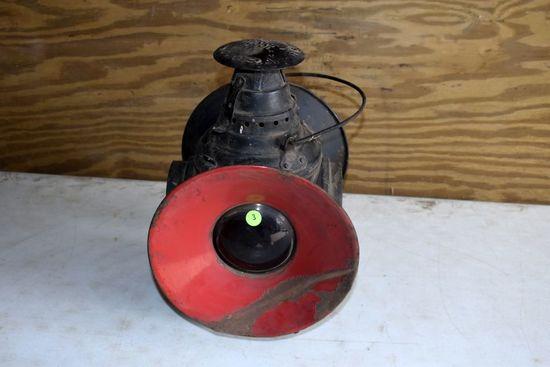 Arlington DRESSE Railroad Lantern, Has All 4 Lenses