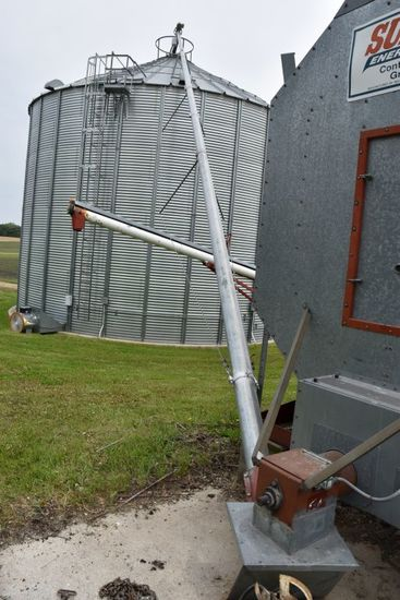 """6"""" x 60' Auger, 5 HP Single Phase"""