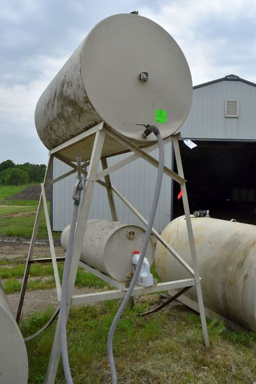 300 Gallon Fuel Tank On Stand
