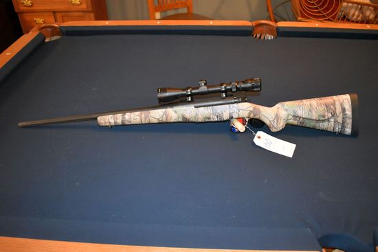 Mossberg Patriot Bolt Action Rifle, .270 Cal Win., 3-9x40 Scope, National Wild Turkey Federation (NW