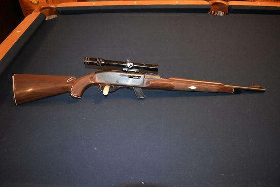 Remington Nylon Semi Auto Rifle, 22 Cal LR Only, Full Nylon Stock, With Westernfield 3-7x20 Scope, W
