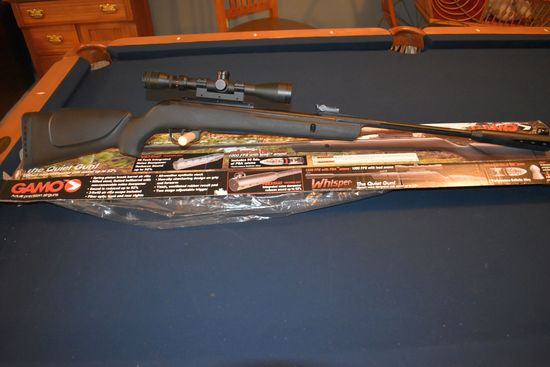 Gamo Whisper .177  Break Barrel Air Rifle With 3-9x40 Scope