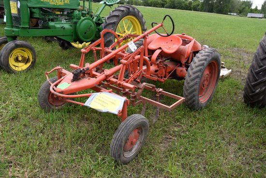 Allis Chalmers G With Front Mount Cultivator, 44""
