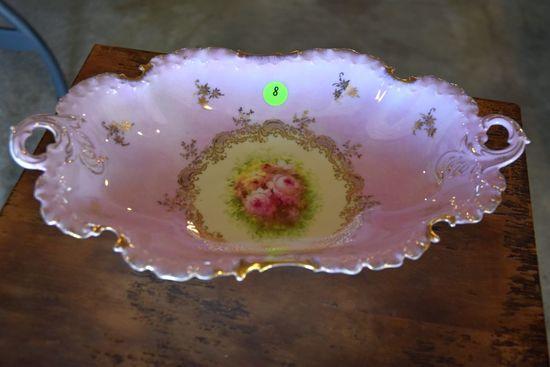 RC Monbijou Hand Painted Porcelain Dish