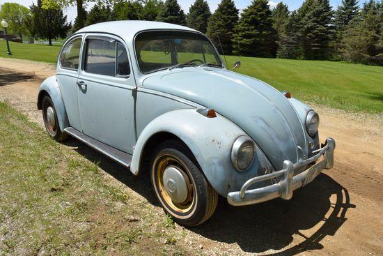 1967 VW Bug, 4sp, Engine Rebuilt 10+ Years Ago, Good Interior, Good Body, Non Running, Original Inte