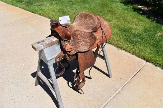 """15"""" Western Saddle, With Suede Seat"""