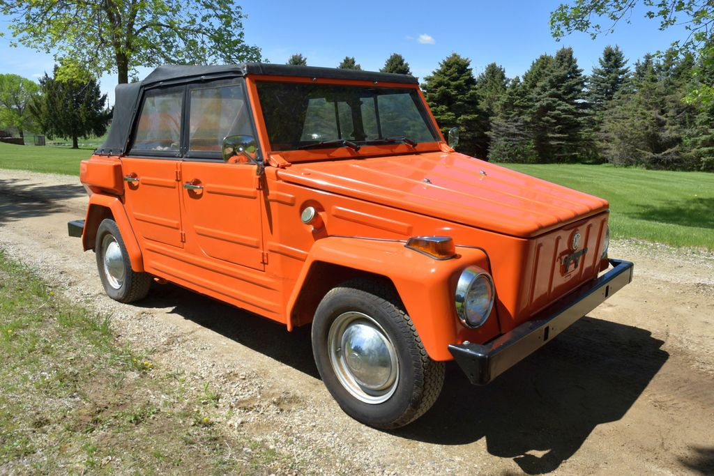 """1974 VW """"Thing"""" Convertible, Hurst Shifter, 59,572 Miles, 4 Door, Motor Is Free, Good Body, Has Titl"""