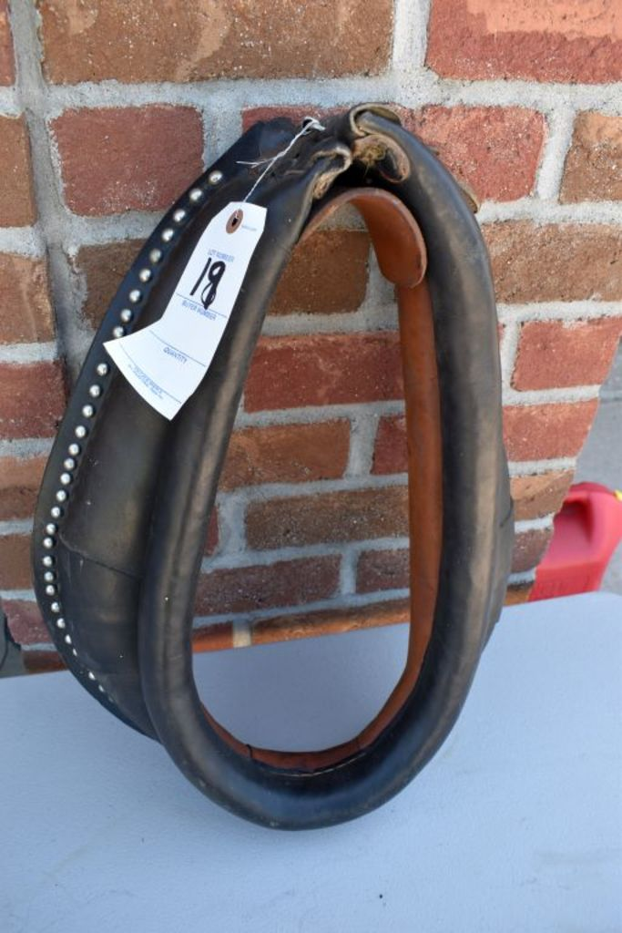 """17"""" Spotted Horse Collar"""