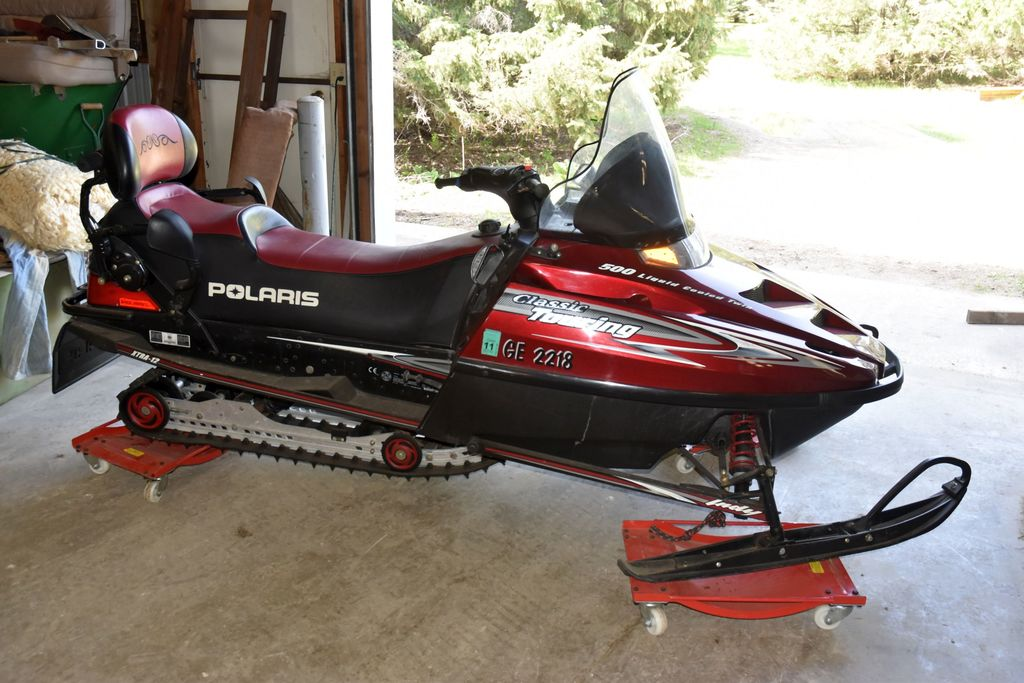 2001 Polaris Classic Touring 500 2-Up Seat, Motor Free, Liquid Cooled Twin, SN: X1C16279, Reverse, H