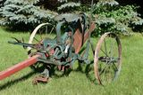 Oliver Steel Wheel Single Bottom Sulky Plow With Horse Pole