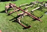 Wooden Horse Drawn Cutter With Pole
