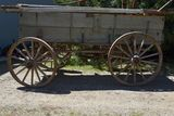 Triumph Wooden Wheel Tripple Box, Wooden Wheels