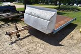 2 Place Single Axle Snowmobile Trailer, Selling As Is, Bill Of Sale