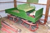 Single Seat Horse Cutter Sleigh, Restored