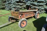 Horse Drawn Ground Driven New Idea Manure Spreader With Seat