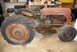 1948 Ferguson TE-20 Tractor, Fenders, 3pt., PTO, Poor Rear Rubber, Non Running