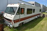 1978 Pace Arrow 31' Motorhome, 440V8, Auto, 6.5 Watt Generator, Non Running, Has Carb And Drive Shaf