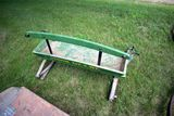 Buck Board Seat With Spring