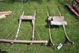Pair Of Sleigh Fronts