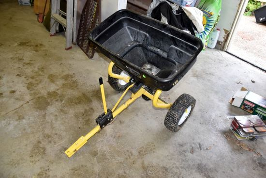 Yard Works 125 Pound Poly Broadcast Spreader, PICK UP ONLY,SEE DATES/TIMES ABOVE IN NOTES, NO SHIPPI