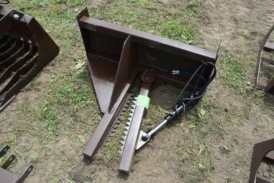 New Unused Hyd. Tree Puller, Universal Skid Loade