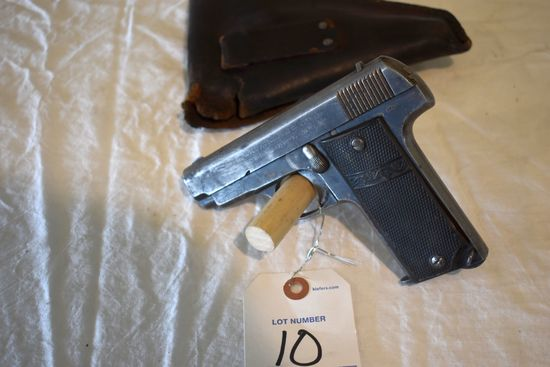 Spanish 7.65 Automatic Pistol, With Holster, SN:9481